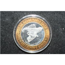 "Casino Rouge ""Hollywood Classics"" Baton Rouge LA Limited Edition Two-Tone $10 Gaming Token; .999 Fin"
