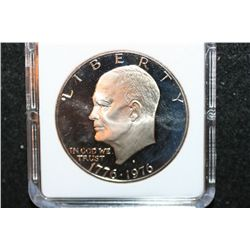 1976-S Eisenhower $1 Coin; MCPCG Graded PF67 Cameo