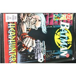 1992 DC Comics; Batman Headhunter! Edition