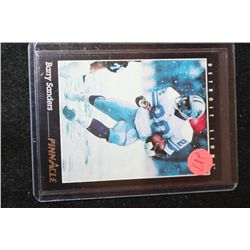 1993 NFL Barry Sanders Detroit Lions Football Trading Card