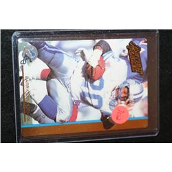 1992 NFL Barry Sanders Detroit Lions Football Trading Card