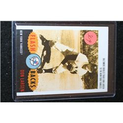 2003 MLB Don Larsen New York Yankees Flash Backs Baseball Trading Card