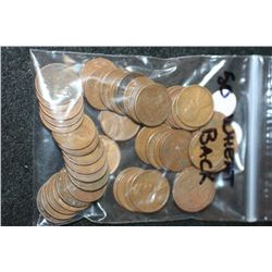 Lincoln Wheat Back Penny; Various Dates & Conditions; Lot of 50