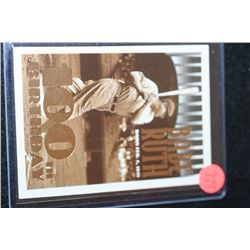 1995 MLB Babe Ruth New York Yankees 100th Birthday Baseball Trading Card