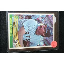 1983 MLB Wade Boggs Boston Red Sox Baseball Trading Card