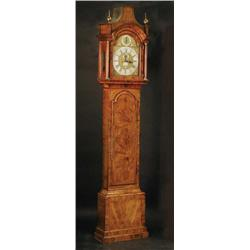 A George II walnut longcase clock, by 'Jn ...