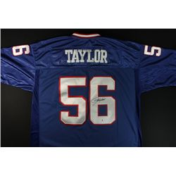 Lawrence Taylor Signed Giants Jersey (GA COA)