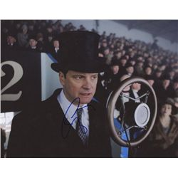 "Colin Firth Signed ""The King's Speech"" 8x10 Photo: (PAAS COA)"