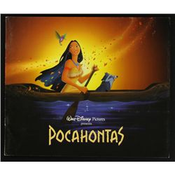 Pocahontas Limited Editon Rare Animation Promotional Book Set