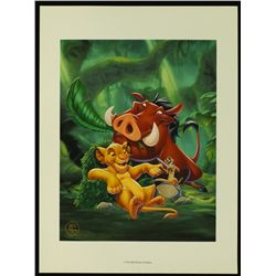 "Walt Disney ""The Lion King"" 1995 Special Edition Lithograph"