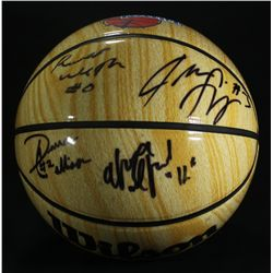 2006-07 UCLA Bruins Team Signed Final Four Basketball: Westbrook, Collison, Afflalo, Shipp (PA LOA)