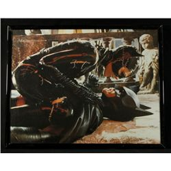 Batman & Catwoman Framed Limited Edition 11x14 Zanart Movie Card