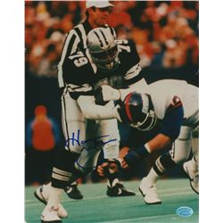 Harvey Martin Signed Cowboys 8x10 Photo (SOP COA)