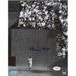 "Willie Mays Signed Giants ""The Catch"" 8x10 Photo (Mays Hologram & JSA COA)"