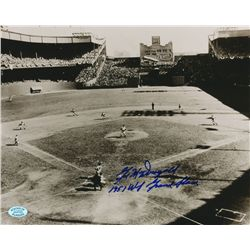 Gil McDougald Signed Yankees 1951 World Series Grand Slam 8x10 Photo (SOP COA)