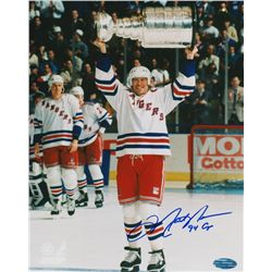 "Mark Messier Signed Rangers 8x10 Photo Inscribed ""94 Cup"" (Steiner COA)"