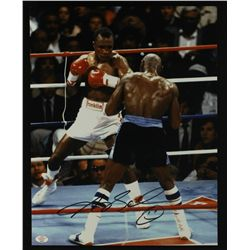 Sugar Ray Leonard Signed 11x14 Photo (PAAS)