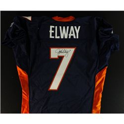 John Elway Signed Broncos Game-Issue Jersey (PSA COA)