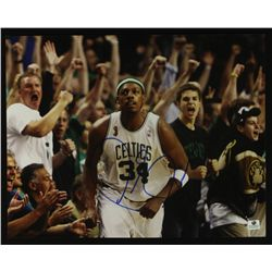 Paul Pierce Signed Celtics 11x14 Photo (GA COA)