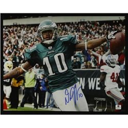 Desean Jackson Signed Eagles 11x14 Photo (GA COA)
