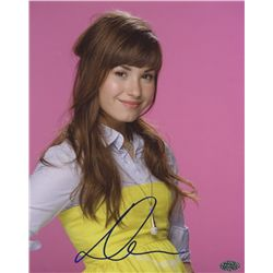 Demi Lovato Signed 8x10 Photo (PAAS COA)