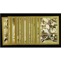 Lot of (16) Different 2003 Fleer Showcase Legacy Baseball Cards BV $73