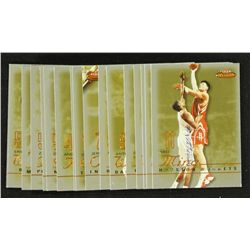 Lot of (17) 2003-04 Fleer Mystique Gold Basketball Cards BV $85