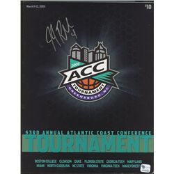 JJ Reddick Signed Duke 2006 ACC Tournament Program (GA COA)