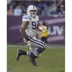 Robert Mathis Signed Colts 8x10 Photo (PAAS COA)