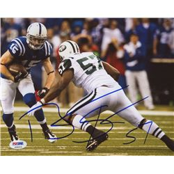 Bart Scott Signed Jets 8x10 Photo (PSA)