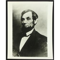 Rare Abraham Lincoln 11x14 Photo from The Library of Congress Archives