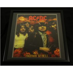 AC/DC 24x30 Custom Framed 3-D Motion Photo