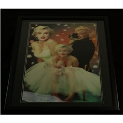 Marilyn Monroe 24x30 Custom Framed 3-D Motion Photo