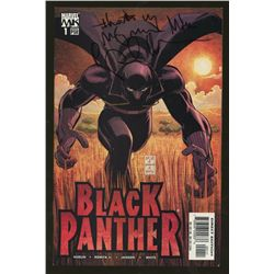 Reginald Hudlin Signed Black Panther Issue 1 April 2005 Comic Book (PA LOA)