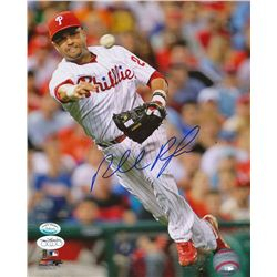 Placido Polanco Signed Phillies 8x10 Photo (JSA & SI COA)