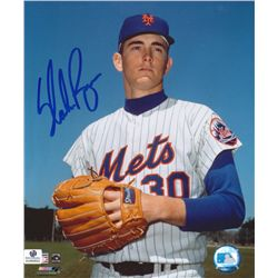 Nolan Ryan Signed Mets 8x10 Photo (GA COA)