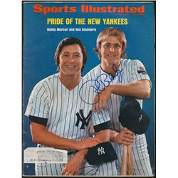 Ron Blomberg Signed Yankees Sports Illustrated Magazine (PA LOA)