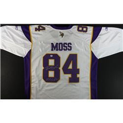 "Randy Moss Signed Vikings Jersey: Inscribed ""1998 ROY"" (GA COA)"