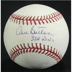 "Don Sutton Signed OML Baseball: Inscribed ""324 Wins"" (PA LOA)"
