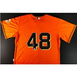 Pablo Sandoval Signed Giants Jersey (GA)