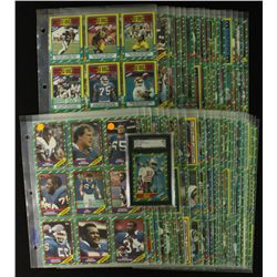1986 Topps Football Complete Set of 396 Cards