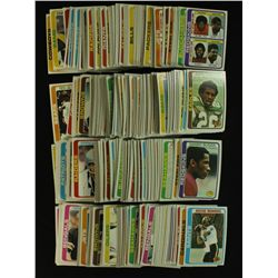 1978 Topps Football Complete Set of 528 Cards
