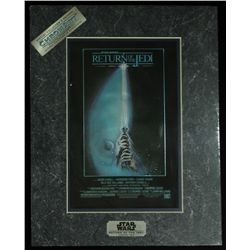 Star Wars Return of the Jedi 1994 Limited Edition Chromium Print (Lucasfilm COA)