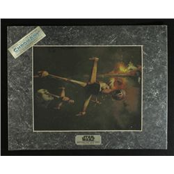 "Star Wars ""Return Of The Jedi"" 1993 Limited Edition Chromium Print (Lucasfilm COA)"