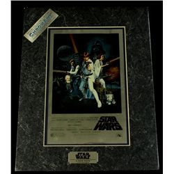Star Wars A New Hope 1994 Limited Edition Chromium Print (Lucasfilm COA)