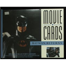 Collection of 8 Batman Returns Limited Edition 11x14 Zenart Lobby Cards