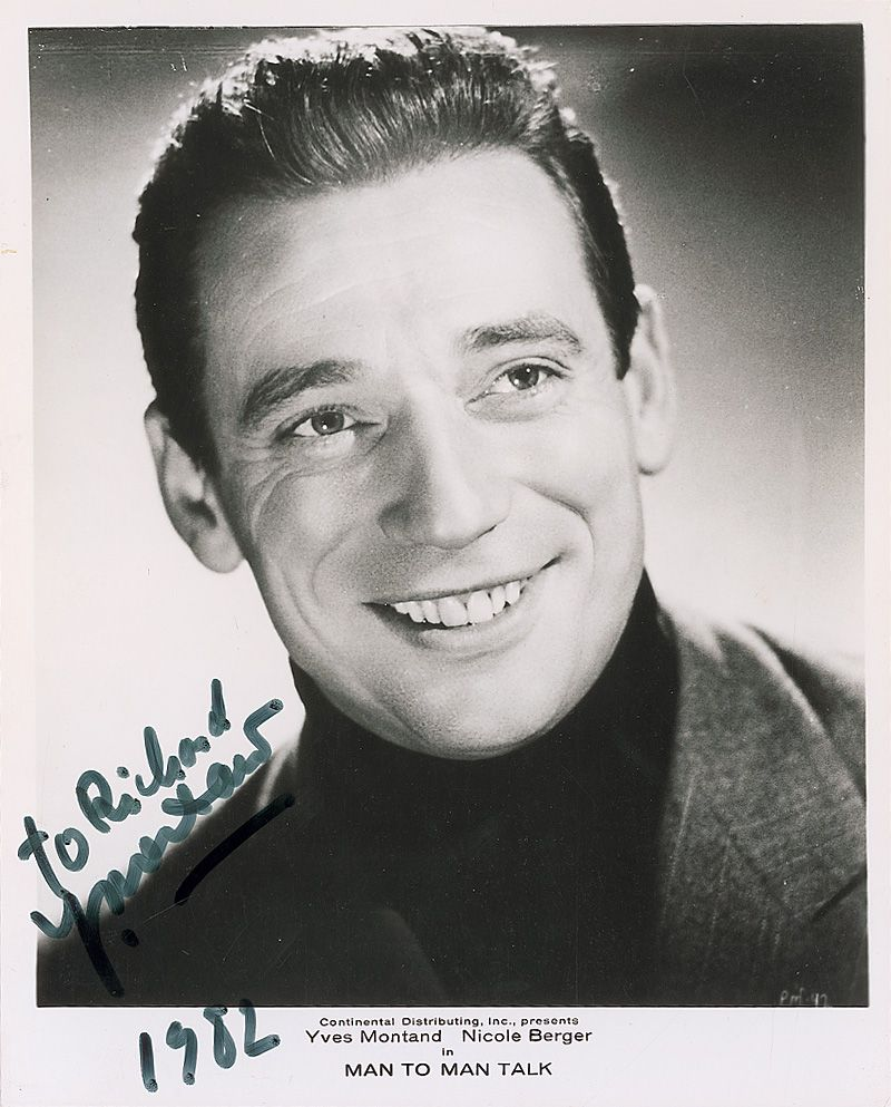 yves montand biographie