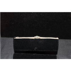 GREAT ORNATE STERLING BRACLET 7.5""