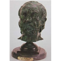 """Man With Broken Nose"" Bronze Sculpture - Rodin"