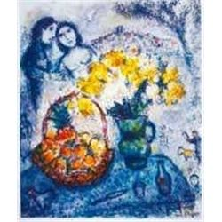 "Marc Chagall ""Yellow Bouquet"""